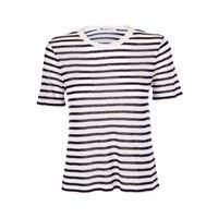 ALEXANDER WANG t-shirt donna 4c481115a3966 cotone bianco