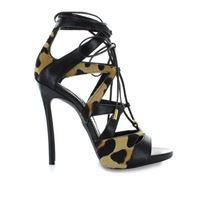 DSQUARED2 sandali donna hsw003854200001m834 pelle nero