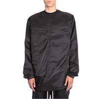 RICK OWENS giacca outerwear uomo rr18f1200nrjc09 poliammide nero