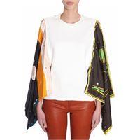 J.W. ANDERSON maglia donna tp89ws18700002 cotone bianco