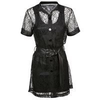 ALEXANDER WANG vestito donna 1w496167h5001 poliestere nero