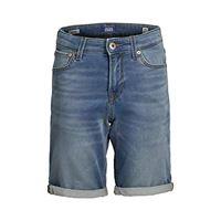Jack & Jones Junior jjirick jjicon shorts ge 003 i. K sts jr pantalocini, denim blu, 176 bambino