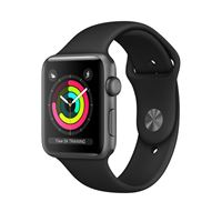 Apple watch series 3 smartwatch, 42 mm, grigio oled gps (satellitare)