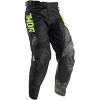 THOR pantalone da fuoristrada aktiv lime/black THOR