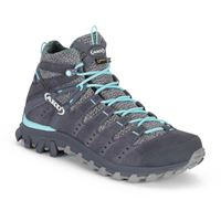 Aku scarponi trekking alterra lite mid goretex eu 38 anthracite / light blue