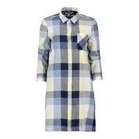 BARBOUR abito chemisier 100 % lino donna