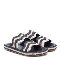Zimmermann sandali wavy in rafia