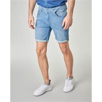 Guess bermuda jeans lavaggio bleach