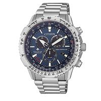 Citizen pilot titanio cb5010-81l orologio uomo eco drive radiocontrollato