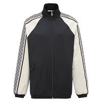 GUCCI giacca in jersey di cotone con zip