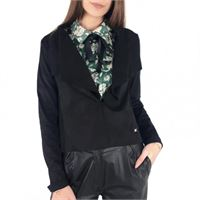 Only stacy drapy faux suede jacket otw giacca donna