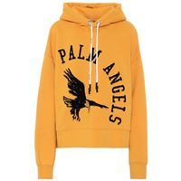 Palm Angels felpa in cotone con logo