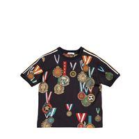 DOLCE & GABBANA t-shirt in jersey di cotone stampato