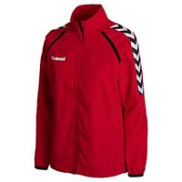 hummel giacca trainings stay authentic micro rosso xs