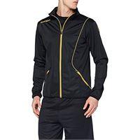 Kempa curve classic jacke, giacca uomo, nero/oro, xxl