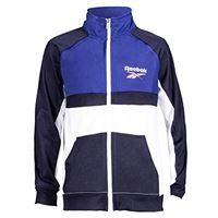 Reebok chaqueta big classic track, giacca bambino, navy, 8 anni