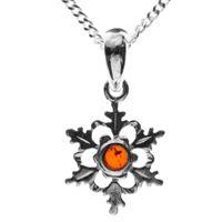 In. Collections 241a201040890 - catenina con pendente da donna, argento sterling 925