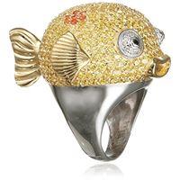 MISIS donna-anello deep reef argento 925 zirconi colorati gr. 54 (17.2) - an02887_54