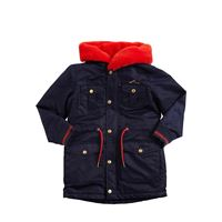 LITTLE MARC JACOBS parka in raso di nylon con cappuccio