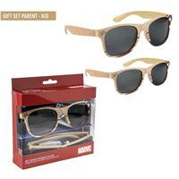 Avengers occhiali da sole family pack set 2pz captain america