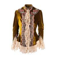 ETRO blazer donna 1761272880700 velluto marrone
