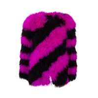 SAINT LAURENT cappotto donna 587337y008o1000 seta multicolor