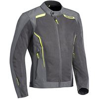 Ixon giacca moto estiva Ixon cool air grigio giallo vivo