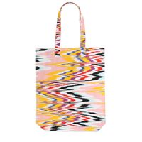 MISSONI borsa shopping in tela di cotone
