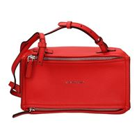 Givenchy borse a tracolla pandora donna pelle rosso one size