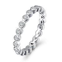 Melitea anello donna gioielli Melitea punti luce ma137.17