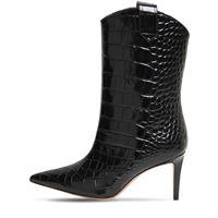 ALEXANDRE VAUTHIER stivali in pelle stampa coccodrillo 80mm