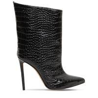 ALEXANDRE VAUTHIER stivali in pelle stampa coccodrillo 110mm