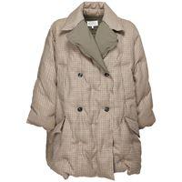 MAISON MARGIELA piumino doppiopetto in lana check