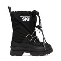 DSQUARED2 stivali da neve con logo 30mm