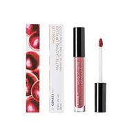 KORRES morello matte lasting lip fluid - n. 10 damask rose, 3. 4 ml
