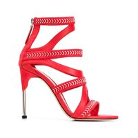 ALEXANDER MCQUEEN sandali donna 559912whv626454 pelle rosso