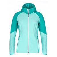 Kilpi giacca con cappuccio balans 36 turquoise