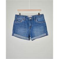 Levi's Kids bermuda jeans lavaggio stone wash medio 4-8 anni