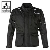BEFAST giacca moto touring befast bolt ce certificata 3 strati nero