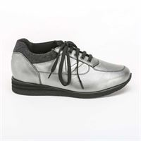 Valleverde sneakers Valleverde comfort antracite/lurex nero