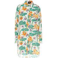 LOEWE paula's ibiza - camicia oversize a stampa in cotone