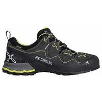 Montura scarpe trekking yaru goretex eu 37 anthracite / lime green