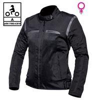 BEFAST giacca moto donna estiva befast freelife lady ce certificata nero