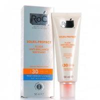 Roc soleil protect 50 ml crema viso fluida anti lucido opacizzante spf 30