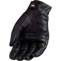 LS2 guanto moto LS2 spark man gloves black leather