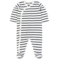 Petit Bateau - unisex - pigiama alla marinara - 3 mesi - blu