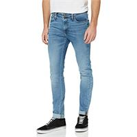 Lee malone jeans skinny, blu (stone blue zl), 26w / 32l uomo