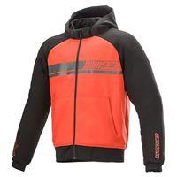 Alpinestars aragon aramidic lining full zip sweatshirt xxxl red / black