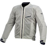 Macna giacca moto touring estiva Macna velocity grigio chiaro