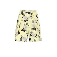 Erdem shorts howard a stampa in cotone